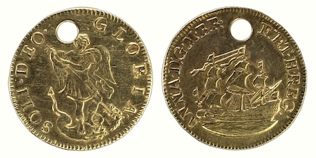 Flu and Pierced GoldCoins