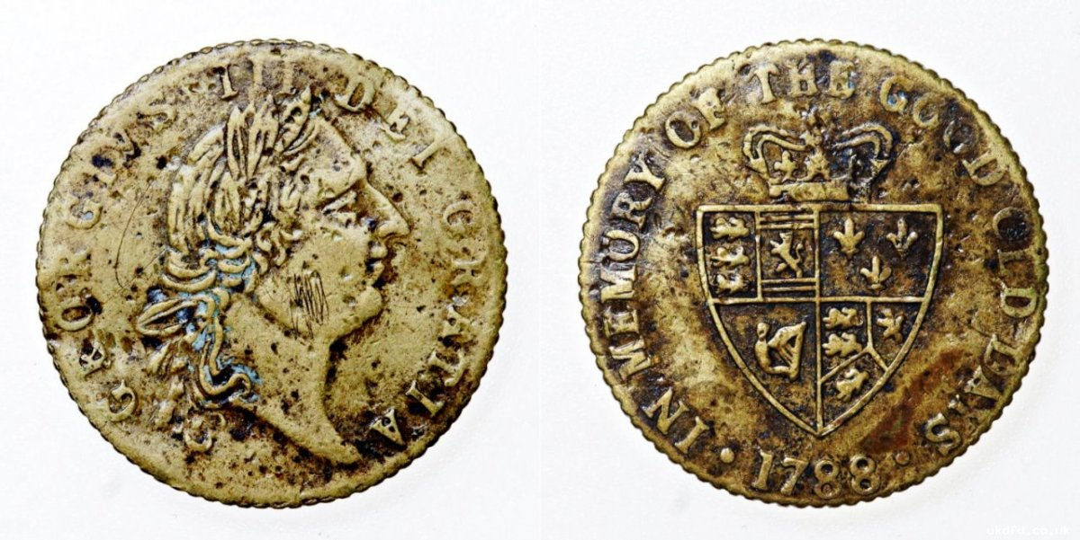 The Imitation Spade Guinea Token, J Sainsbury and General Mite